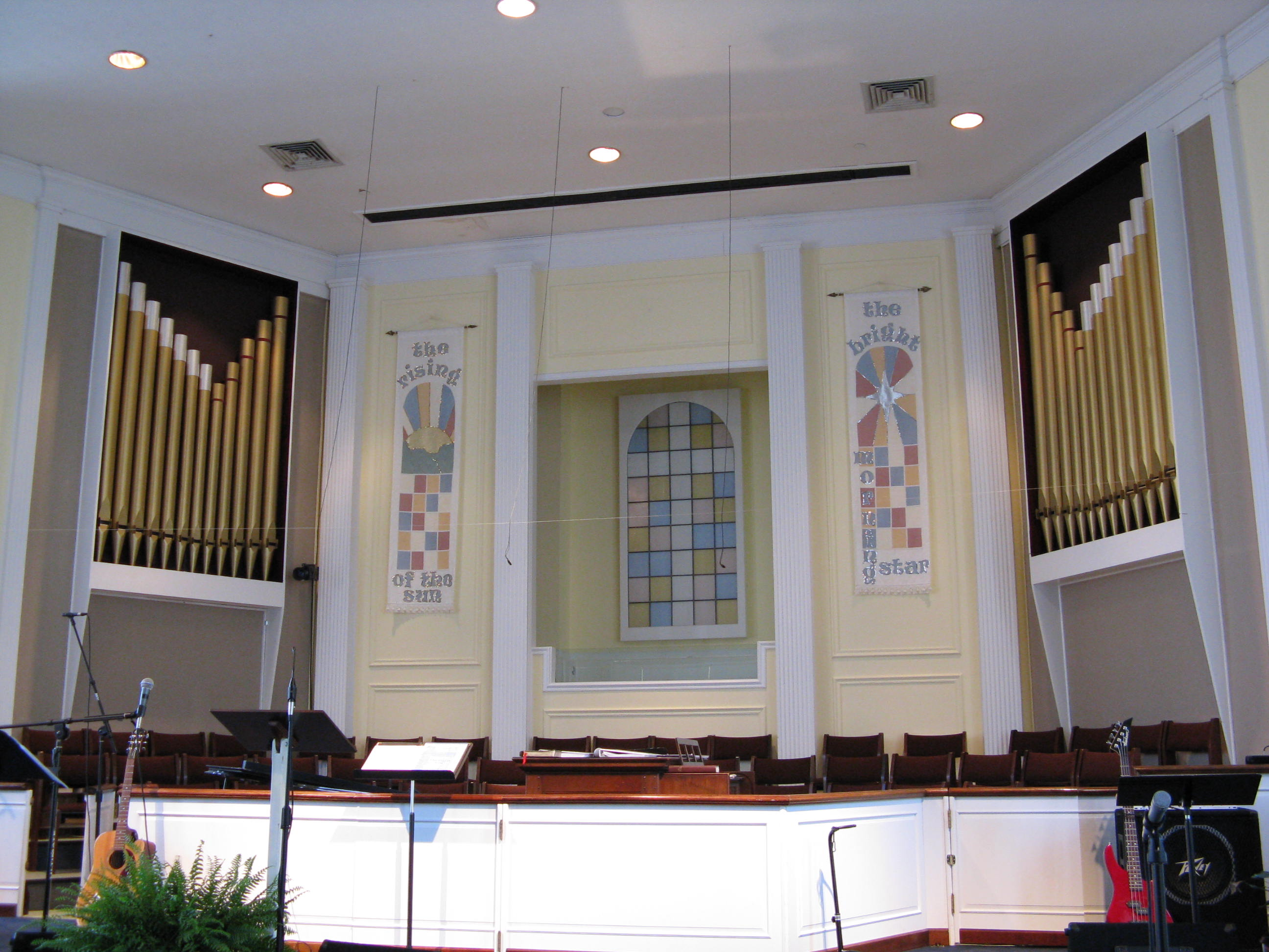 Mt. Carmel Baptist Pipes