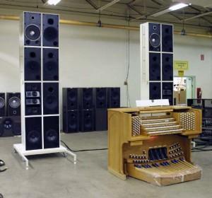 Cincinnati Music Hall - Allen Organ